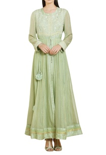 georgette-thread-embroidered-anarkali-set