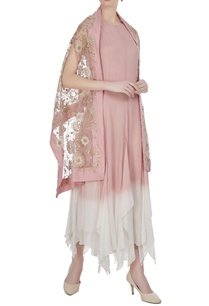 asymmetrical-hemline-tunic-with-embroidered-jacket