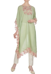 embroidered-kaftan-with-asymmetric-hemline
