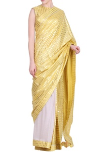 crepe-crushed-cotton-foil-printed-saree-with-blouse