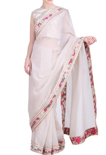 kota-doria-gota-border-saree-with-blouse