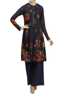 chanderi-floral-digital-printed-kurta