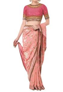 banarasi-silk-saree-with-embroidered-blouse