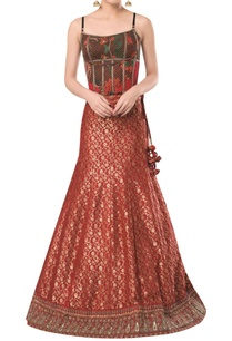 spaghetti-sleeves-corset-with-brocade-embroidered-lehenga