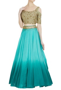 pure-silk-ombre-lehenga-with-cold-shoulder-zardozi-blouse