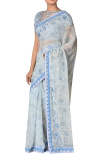 chiffon-floral-sequin-embroidered-sari-with-blouse