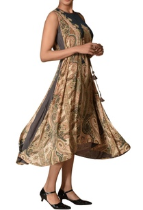kashmiri-jamavar-printed-high-low-dress