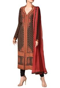 crepe-silk-kashmiri-inspired-printed-kurta-set