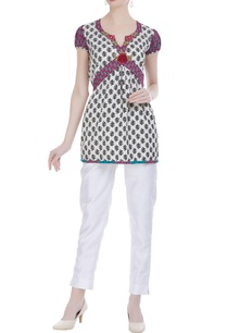 white-cotton-printed-short-tunic