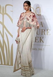 floral-net-sheer-sari-with-cape-blouse-petticoat