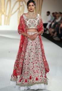 raw-silk-lotus-embroidered-lehenga-set
