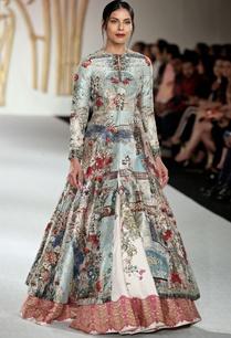 dupion-silk-floral-printed-jacket-with-lehenga