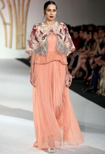 tiered-style-scallop-gown-with-embroidered-jacket