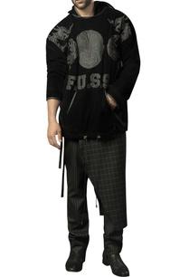 velvet-jumper-in-leather-applique