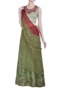 hand-painted-lehenga-with-blouse