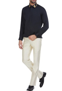 black-cotton-thread-embroidered-shirt
