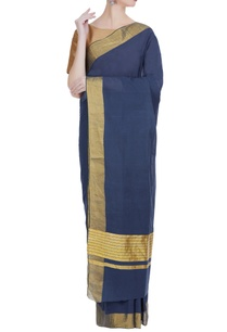 handloom-cotton-sari-in-zari-work-unstitched-blouse