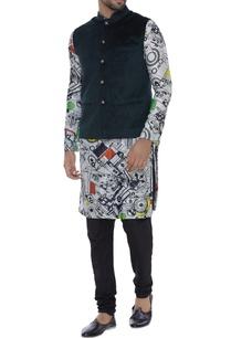 embossed-nehru-jacket