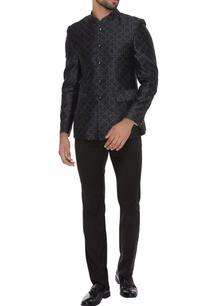 jaal-print-bandhgala-jacket