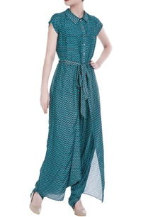 satin-printed-jumpsuit-with-flap-layer