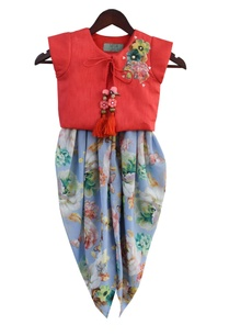 embroidered-jacket-top-with-dhoti-pants