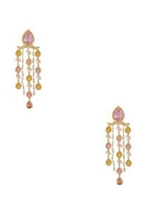 long-tangling-multicolor-earrings