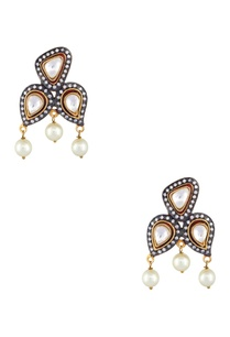 persian-style-pearl-drop-earrings