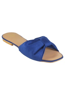 suede-bow-strap-flat-sandals