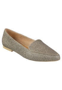glitter-finish-flat-loafers