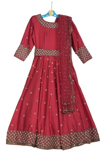 cutdana-embroidered-anarkali-dress-with-dupatta