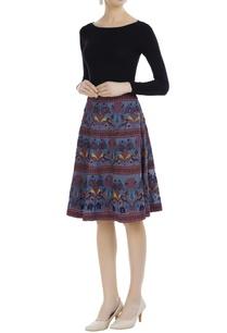 printed-cotton-midi-skirt