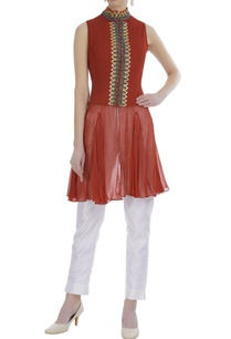 georgette-embroidered-shirt-tunic