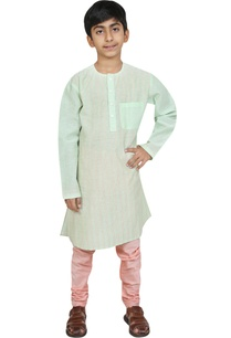 threadwork-embroidered-kurta-with-churidar