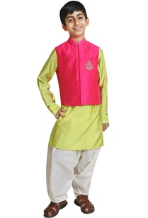 embroidered-jacket-with-kurta-and-salwar