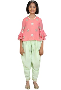 sequins-embroidered-top-with-dhoti-pants