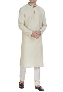 embroidered-cotton-silk-kurta