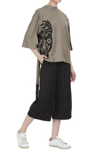 pinstriped-hand-embroidered-culottes