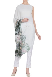 floral-sequin-embroidered-draped-tunic