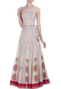 printed-khadi-lehenga-with-tube-blouse