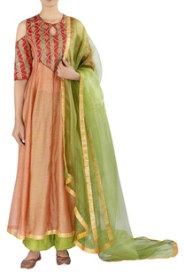 embellished-kurta-with-straight-pants-and-dupatta