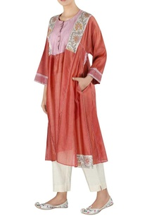 chanderi-asymmetric-style-tunic-with-pants