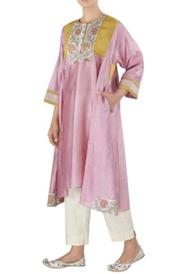 chanderi-asymmetric-tunic-with-pants
