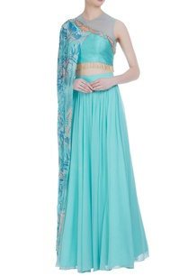 draped-layer-bead-embroidered-blouse-with-pleated-lehenga