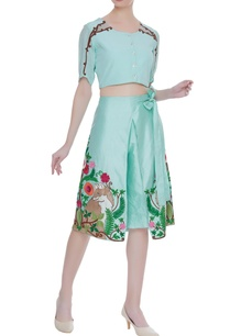 crepe-silk-crop-top-with-draped-culottes