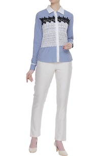blue-white-crochet-patchwork-top