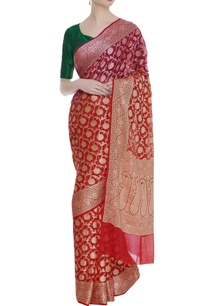 hand-woven-georgette-sari