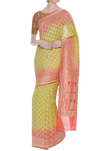mysore-georgette-sari-with-unstitched-blouse