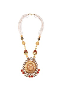 kundan-temple-pendant-necklace-with-pearls