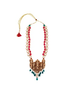 kundan-statement-necklace-with-adjustable-tie-up-accents