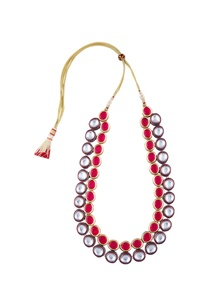 kundan-double-layered-tie-up-necklace